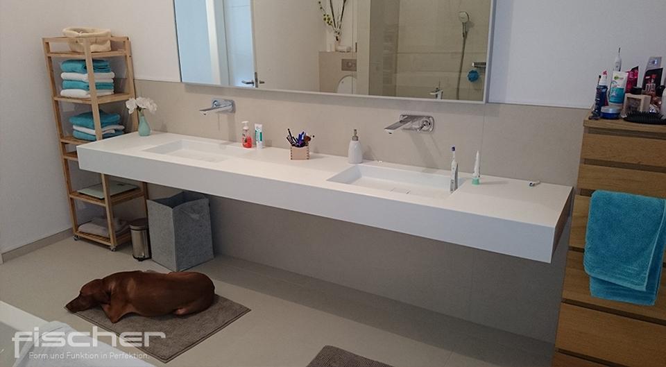 Corian Waschbecken nach Maß   modernes Waschbecken aus Corian